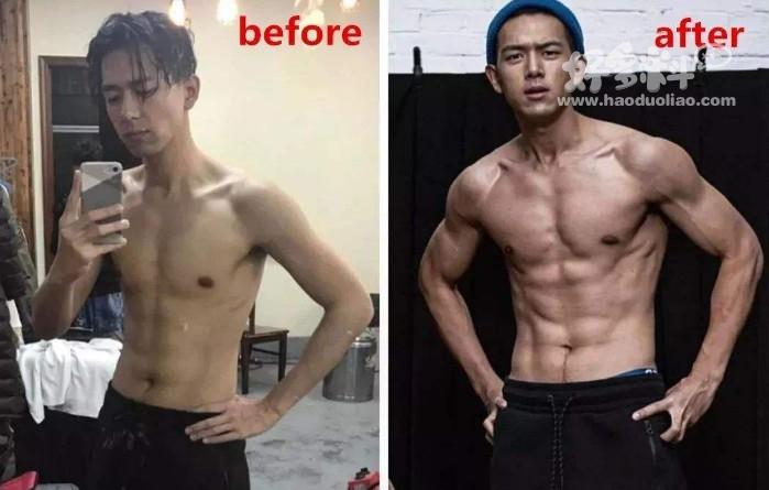 李现减肥前后对比图,李现以前有多胖体重达200斤